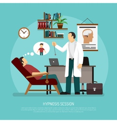 Hypnosis Session vector image