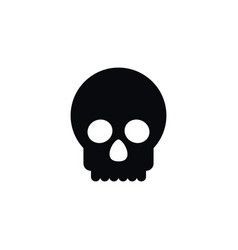isolated bone icon dead element can be vector image