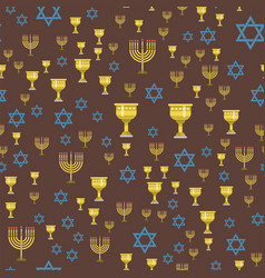 Judaism church traditional seamless pattern vector