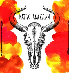 Native american vector