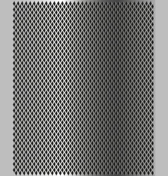 shiny metal grill texture vector image