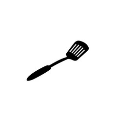 spatula icon in flat style for apps ui websites vector image