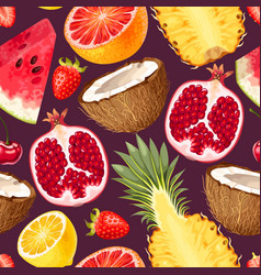 tropic seamless pattern vector image