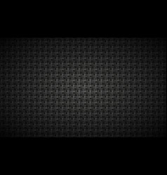 abstract black puzzle background vector image