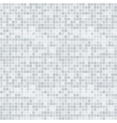 Abstract grayscale pixelated seamless pattern vector image vector image
