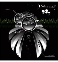 ufo speakers vector image