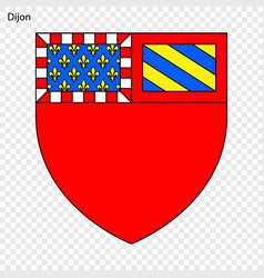 Emblem of dijon vector