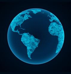 global network vector image