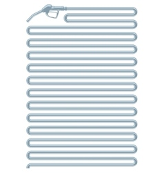 Outline filling gun vector