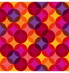 Seamless Vibrant Pattern Background vector image