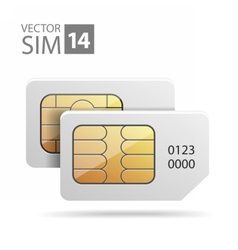 SimCard08 vector image