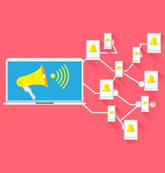 Concept advertising for social network vector