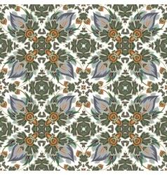 mosaic background ceramic tiles majolica vector image vector image