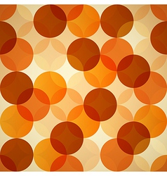 Seamless Circle Abstract Background vector image