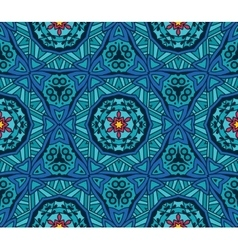Abstract ethnic tiled seamless pattern vector