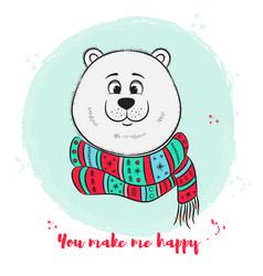 bear1 vector image
