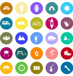 CampingIcons2 vector image