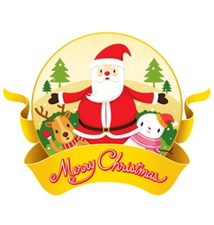 Christmas Banner And Decoration vector
