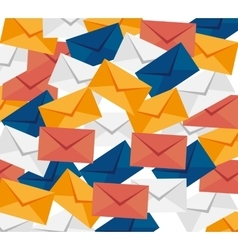 envelopes mail isolated icon vector image