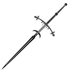 fantasy sword 0006 vector image