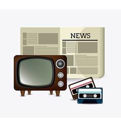 Journalism design vector