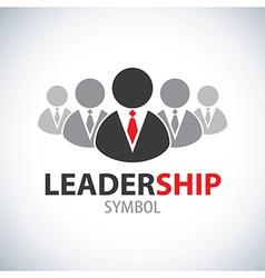 Leadership symbol icon vector