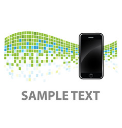 phone background vector image