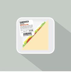 Sandwich Pack vector image