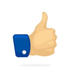 thumb up symbol like vector image