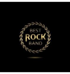 Best rock band vector
