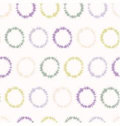 Dotty shibori tie dye sunburst circle stripe vector