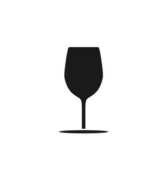 glass wine logo design inspiration vector image