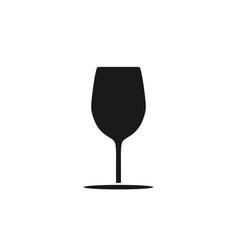 glass wine logo design inspiration vector image
