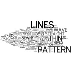 Line-out word cloud concept vector