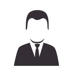 Man suit executive vector