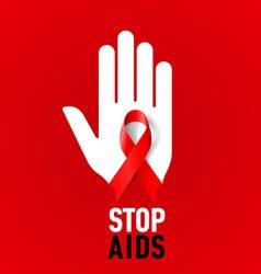 STOP AIDS Symb 03 vector