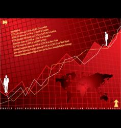 financial background vector image