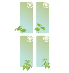 green messages vector image vector image