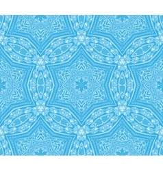 seamless vintage winter pattern vector image vector image