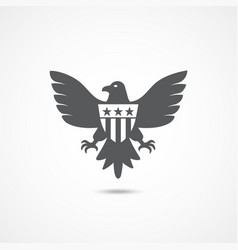 american eagle icon vector image