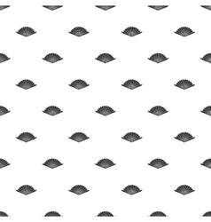 Fan pattern simple style vector