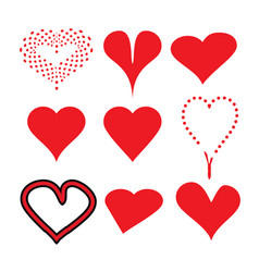 heart love 01 vector image