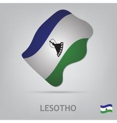 losotho vector image