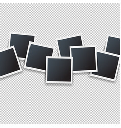 photos border isolated transparent background vector image