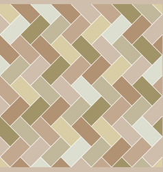 seamless pattern brick tile herringbone vector image