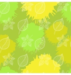 Abstract leaf vector image vector image