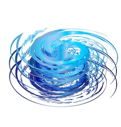 Hurricane icon vector image vector image