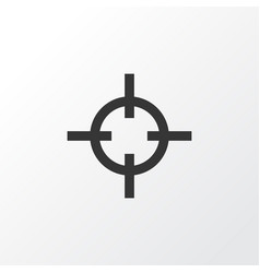 sniper icon symbol premium quality isolated vector image vector image