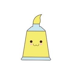 Color bag class school instrument icon vector