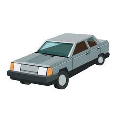 gray car icon vector image